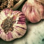 garlic - healthy whole food and how to cook with it.